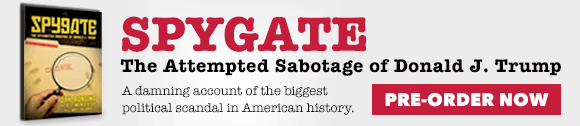 Preorder Now: Spygate: The Attempted Sabotage of Donald J. Trump