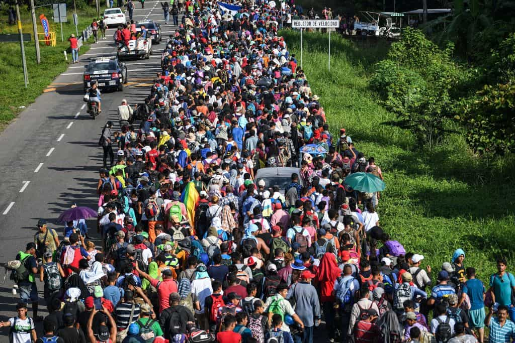 Guatemalan Military Struggles to Stop Migrant Caravan Headed to America to Get Amnesty From Joe Biden