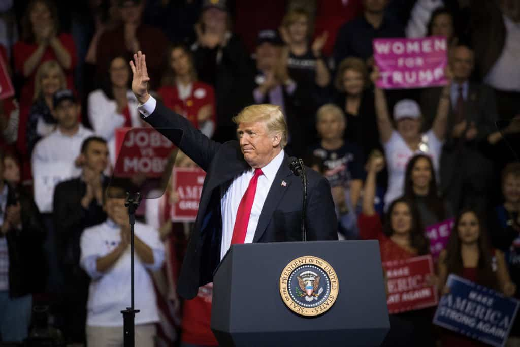 Trump Approval Rating Reaches New High