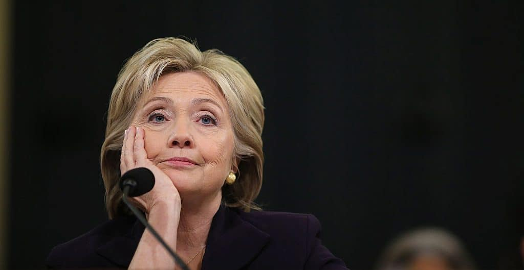 """Hillary Jokes """"They All Look Alike"""" After Interviewer Confuses Corey Booker and Eric Holder"""