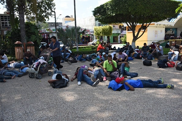 'Migrant Caravan' Stalls After Mexican Government Denies Buses