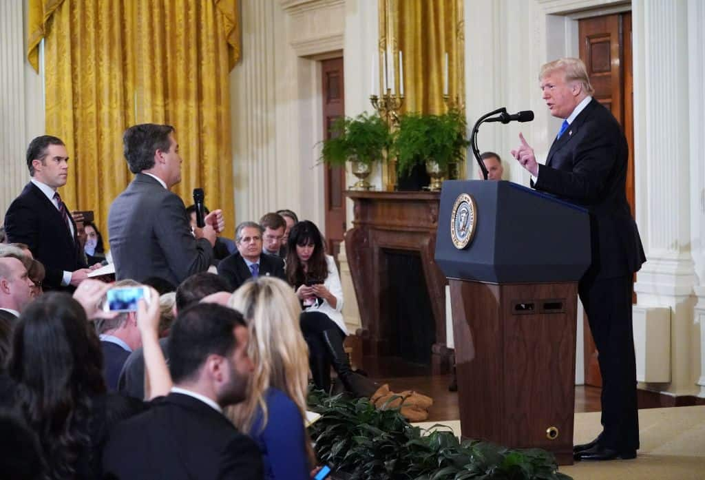 BREAKING: Judge Orders White House to Return Jim Acosta's Press Pass