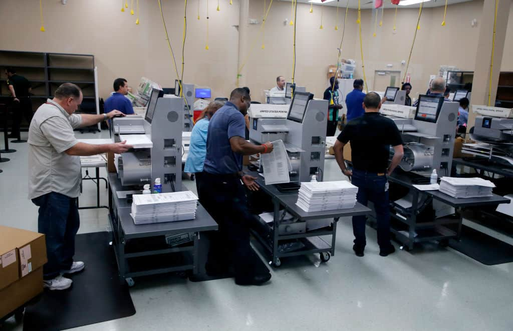"Broward County ""Misplaced"" Over 2,000 Ballots"