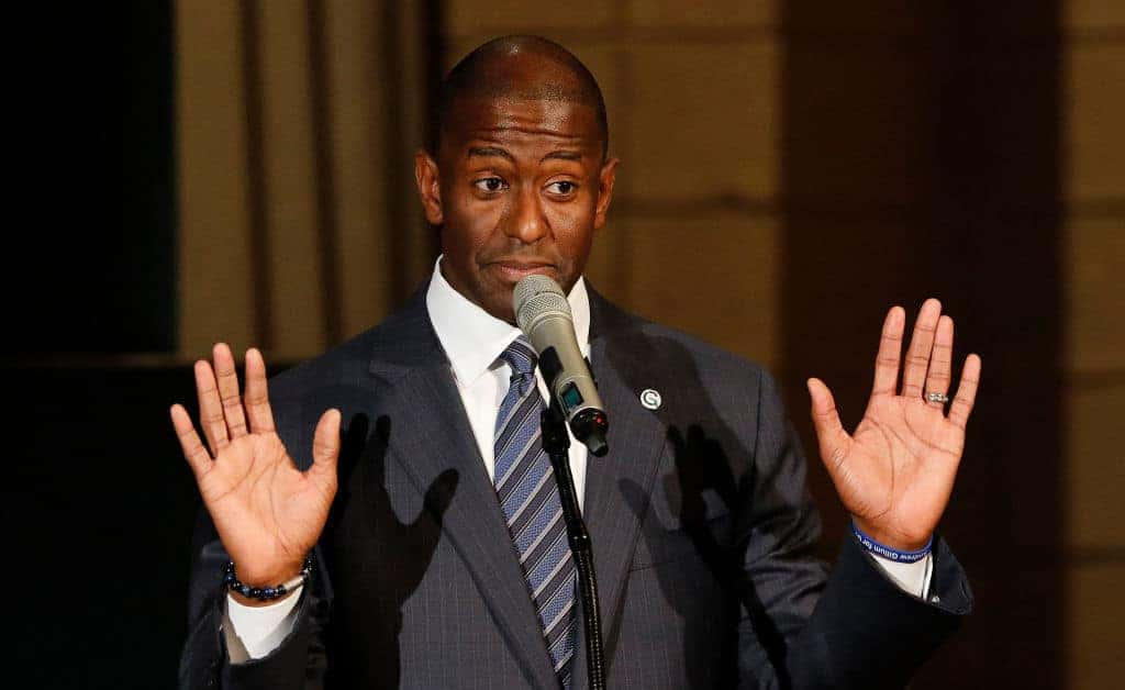 Gillum Rescinds Concession in Florida Race; Taunts Trump on Twitter