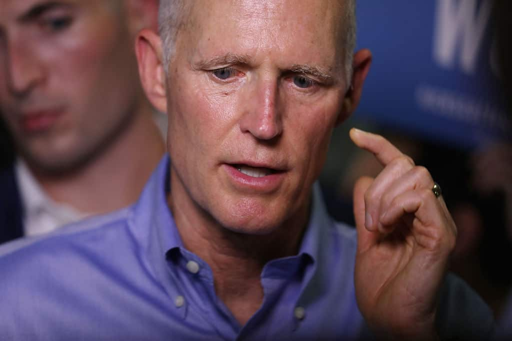 Rick Scott Loses 779 Votes Because Broward County Missed Recount Deadline by 2 Min