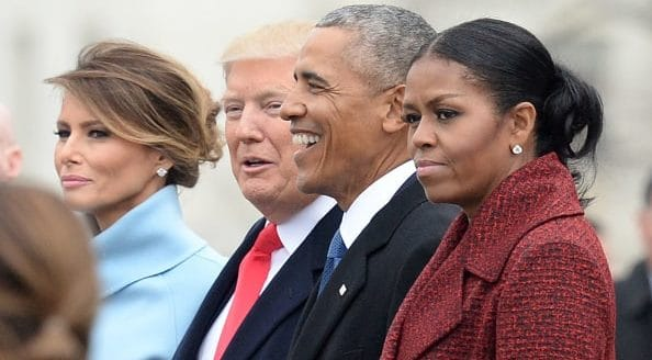 "Michelle Obama says she ""Stopped Trying to Smile"" During Trump Inauguration"