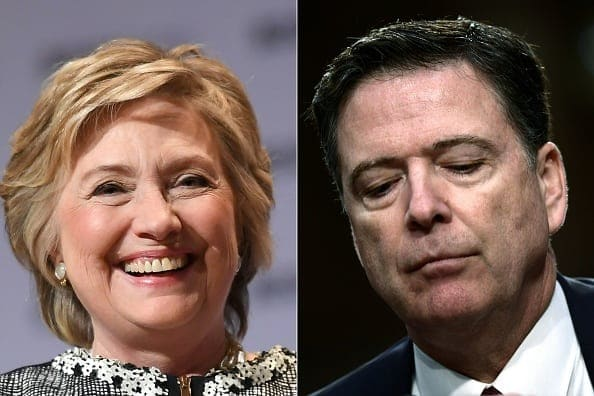 REPORT: Trump Wanted DOJ to Prosecute Clinton, Comey; Was Rebuffed by WH Counsel