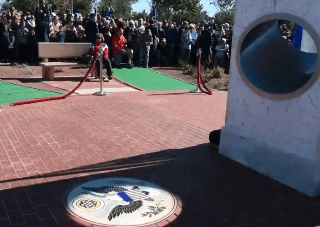MUST SEE: AZ Veterans Memorial Syncs Perfectly with the Sun at 11:11 on 11/11