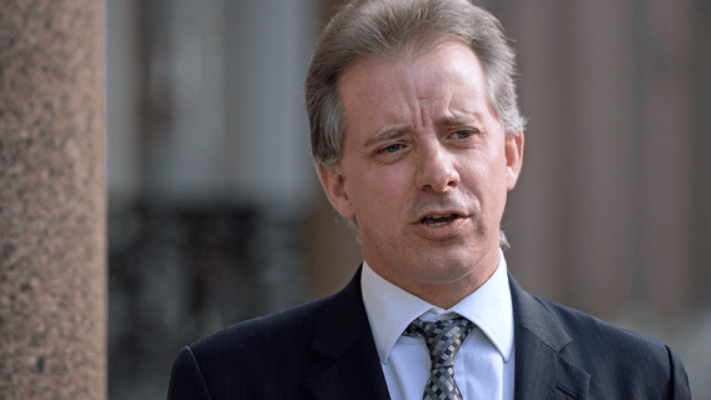 Report: British Govt Warned U.S. About Christopher Steele's Credibility in 2017