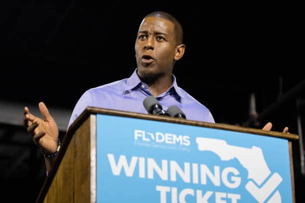 Andrew Gillum Concedes Florida Governor's Race to Ron DeSantis… Again