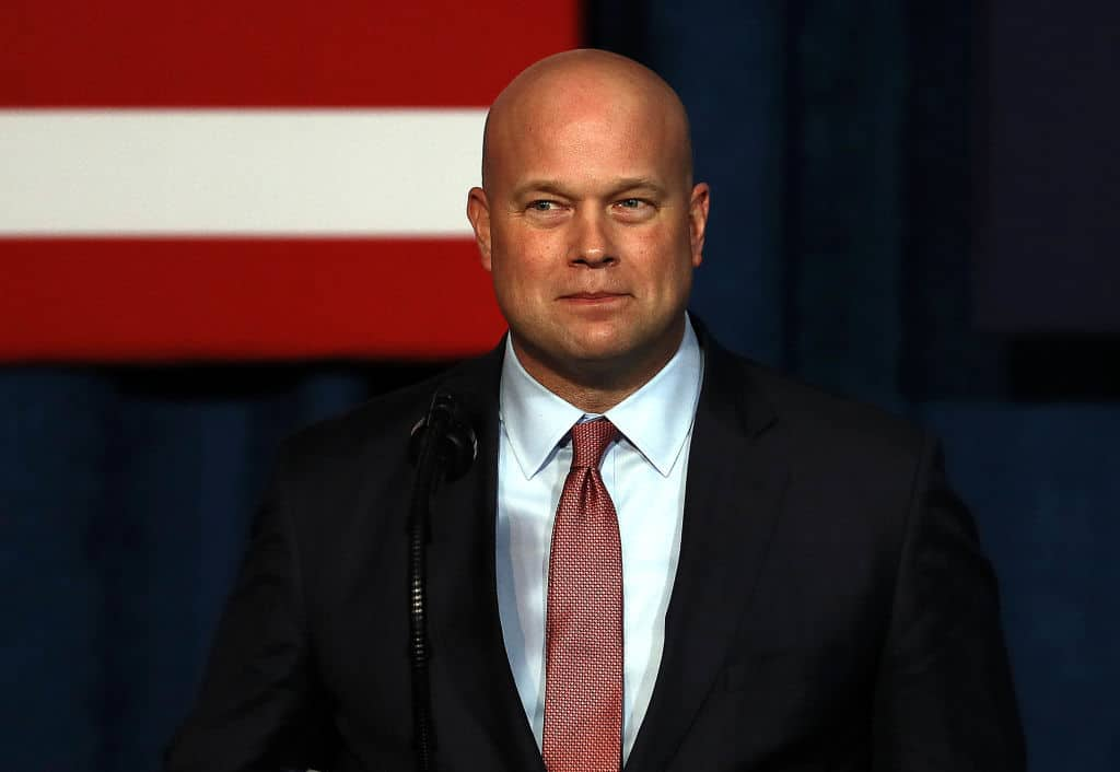 Report: Acting AG Whitaker Will NOT Recuse Himself from Overseeing Mueller Probe