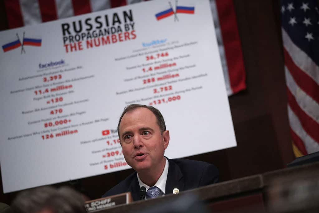 Poll: Majority of Voters Don't Think Dems Produced Evidence of Trump-Russia Collusion
