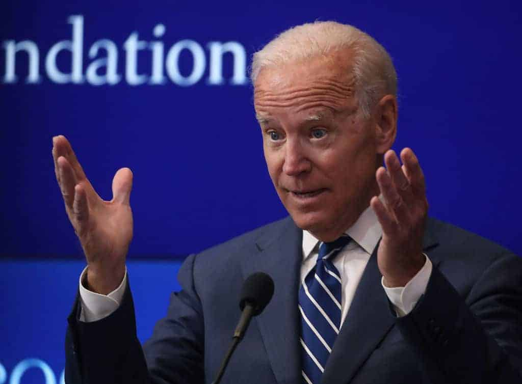 Biden Claims He 'Became a Professor' After Leaving the Senate