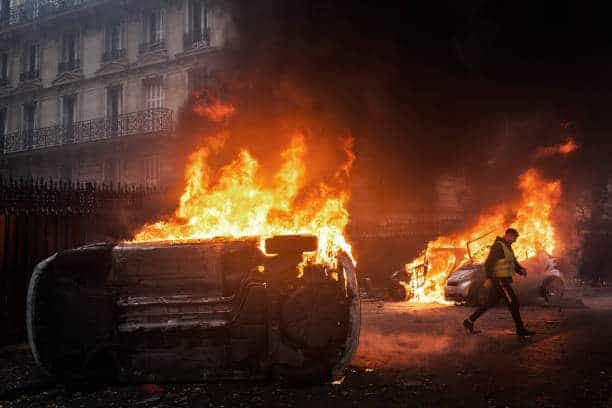 Fuel Tax Fallout: Worst Riots in Paris Since 1960s