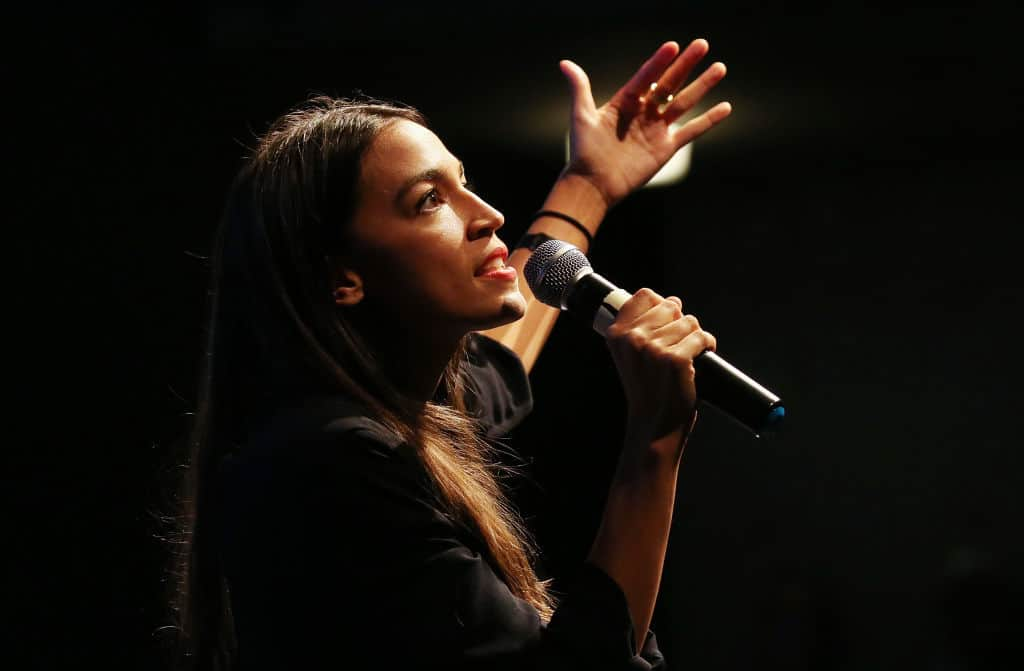 "Ocasio-Cortez: World Will End in 12 Years Due to Climate Change, ""This is our WWII"""