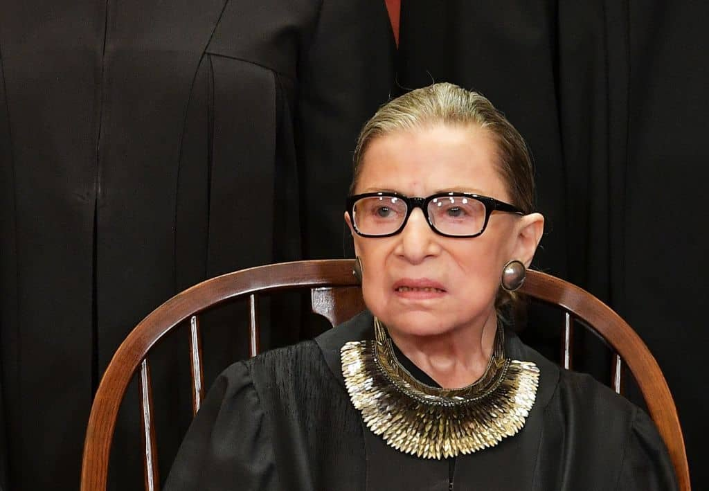 Supreme Court Justice Ginsburg to Miss SCOTUS Session for First Time Ever