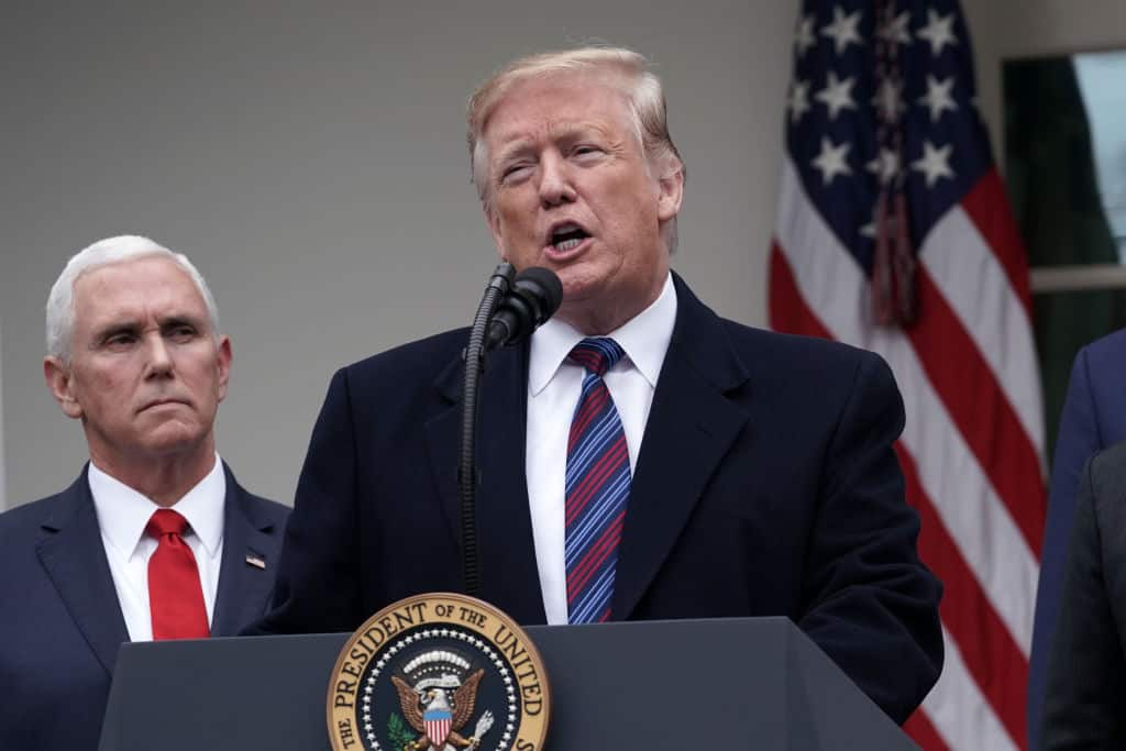 "Trump: ""We Can Call a National Emergency"" to Build Border Wall"