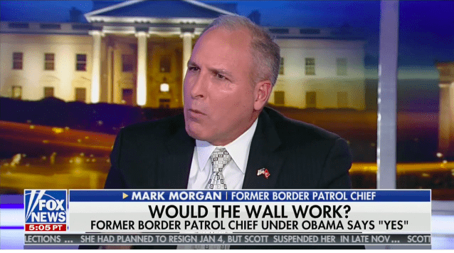 Must See: Even Obama's Border Patrol Chief Supports Trump's Wall