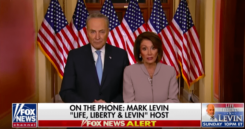 "Mark Levin Rips into Schumer and Pelosi After Last Night's Address: ""They are Pathological Liars"""