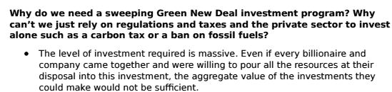 "The ""Green New Deal"" is a Total Disaster 10"