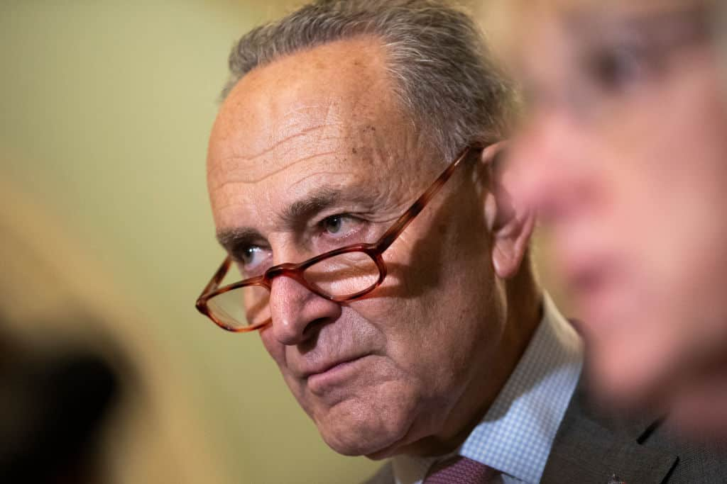Schumer Left Fuming After McConnell Vows Vote on Disastrous Green Deal