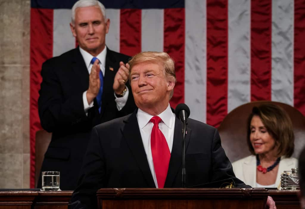 Trump's Approval Rating Ticks up After Incredible SOTU Address