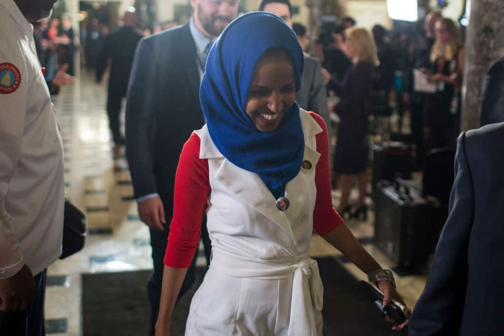 Watch: Rep. Omar Avoids Apologizing for Smearing Covington Students