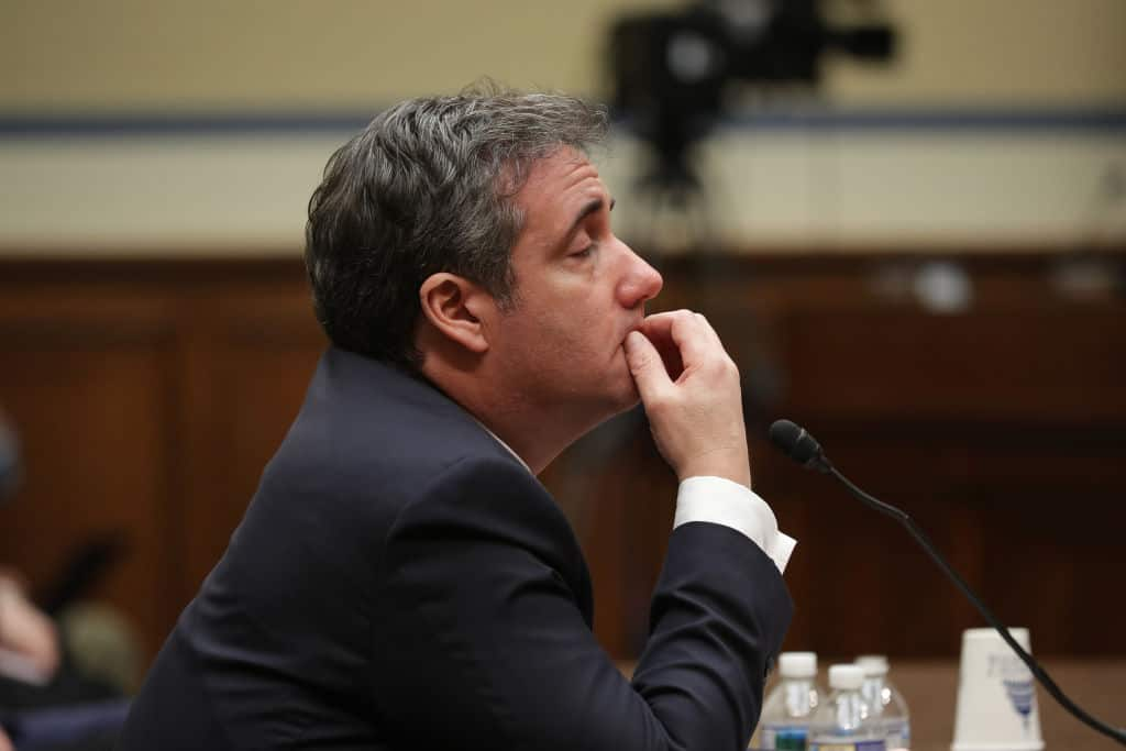 Cohen Referred to DOJ for Perjury After Congressional Testimony