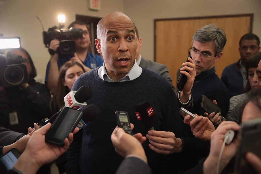 "CORY BOOKER: Biden is ""Proud Architect of a FAILED"" Criminal Justice System"