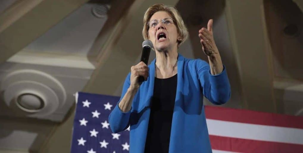 "Warren's Fantasy: Trump ""May Not be Free Person"" by 2020"