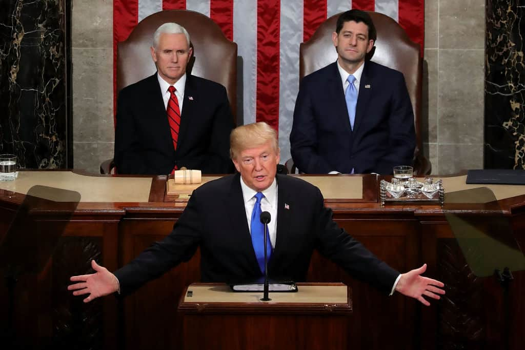 The Incredible Guests President Trump Invited to Tonight's State of the Union Address