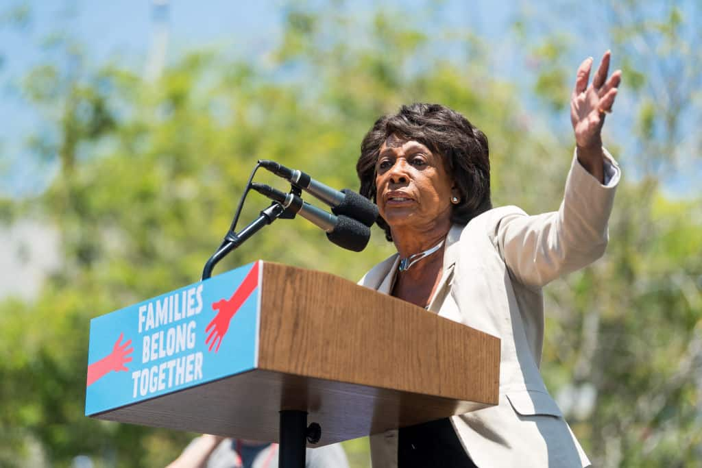 Maxine Madness: Those who Support Border Wall Don't Love the Country