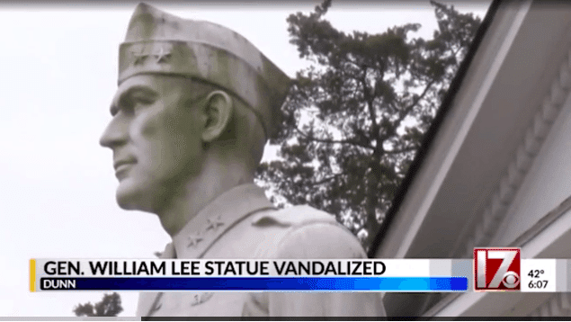 Vandals Appear to Have Mistaken WWII Hero Statue for Confederate General