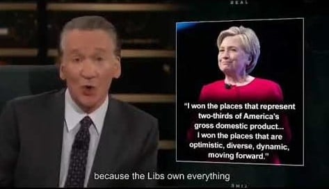 Bill Maher's Smug Red State Mockery Couldn't Be More Wrong
