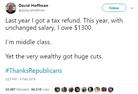 Liberals are Twisting the Numbers to Say Trump Raised Middle Class Taxes 2