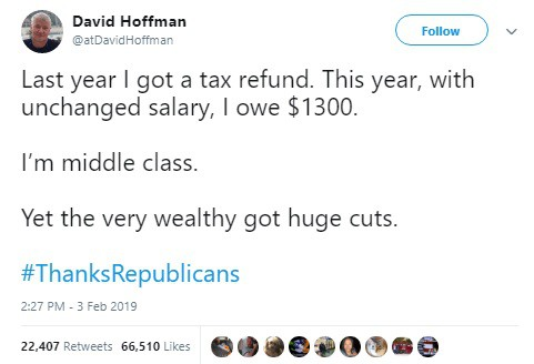 Liberals are Twisting the Numbers to Say Trump Raised Middle Class Taxes