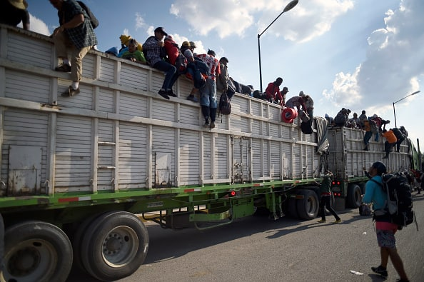 ANOTHER Migrant Caravan Forms, Begins Journey Through Mexico to U.S.