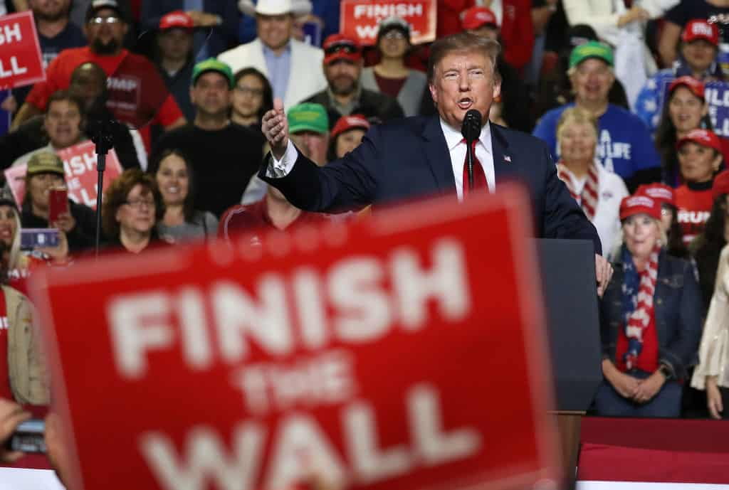 Trump to Ask for $8.6 Billion in Wall Funding for 2020 Budget