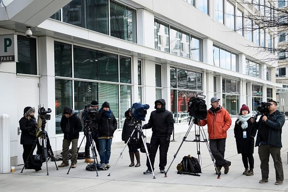 Desperate CNN Reporters STILL Camped Outside Mueller's Office