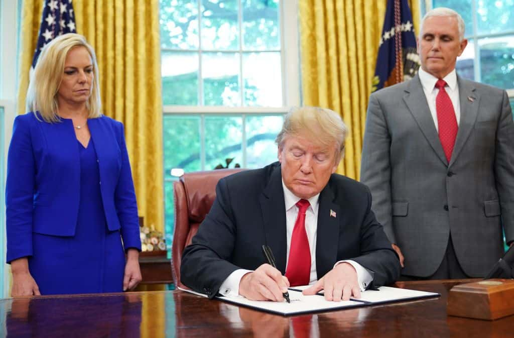 Breaking: Trump Vetoes Bill Blocking National Emergency Declaration