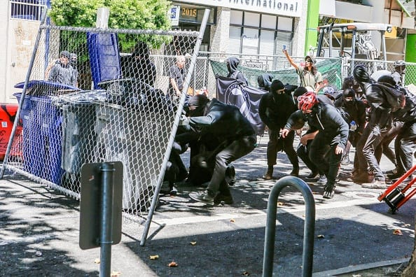 "Report: FBI Investigating Antifa ""Armed Rebellion"" Plot at U.S. Border"