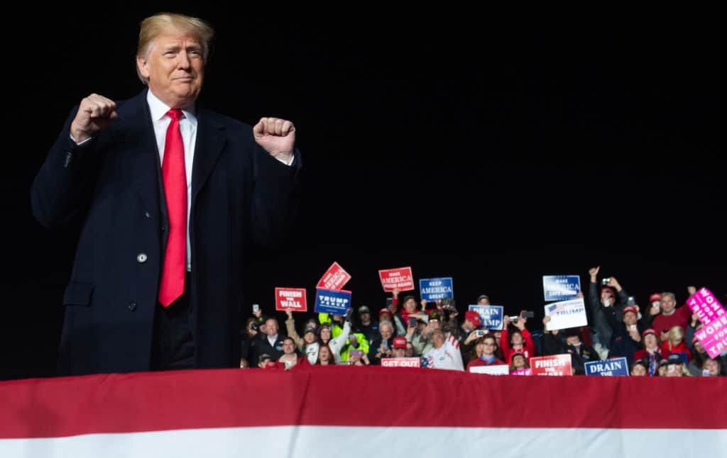 "Trump to Hold Rally in Wisconsin on Night of ""Boring"" WH Correspondents' Dinner"