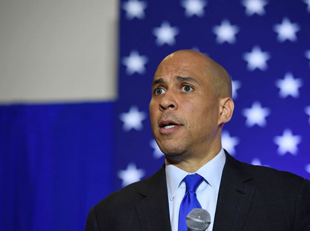 Cory Booker to Introduce Senate Slavery Reparations Bill