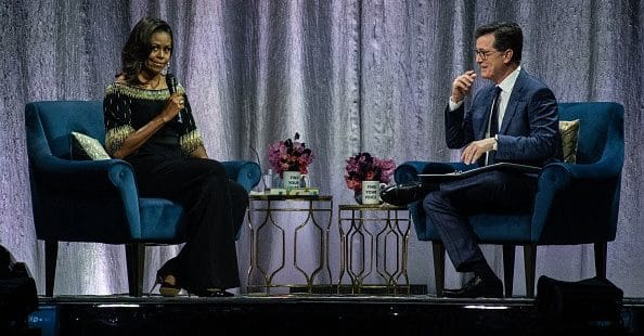 "Michelle Obama Compares Trump Presidency to ""Living with a Divorced Dad"""