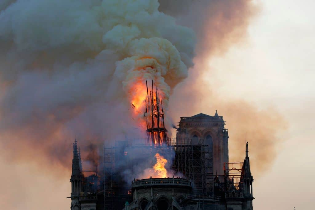 "Paris Fire Official: Notre Dame Main Structure ""Saved and Preserved"""