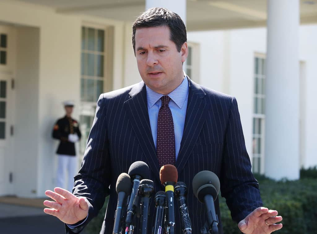 "Nunes Sues CNN for  $435 Million, Lawsuit Calls Network ""The Mother of Fake News"""