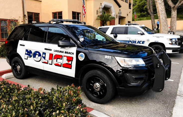 "CA Liberal Backlash Over ""Aggressive"" American Flags on Police Vehicles 2"