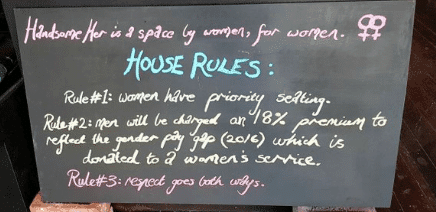 "Feminist Cafe with 18% ""Man Tax"" Goes Out of Business After 2 Years"