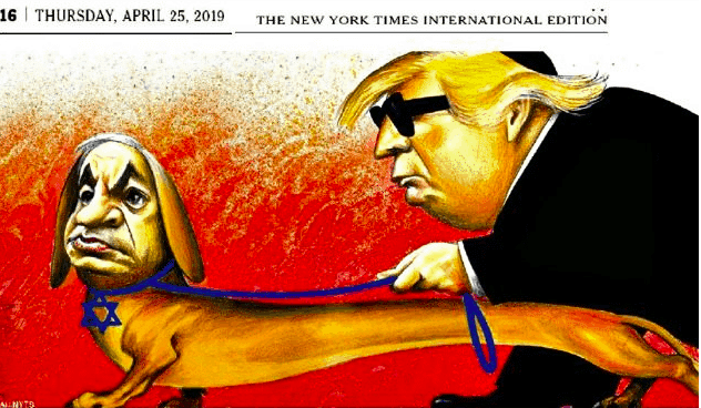 NYT Apologizes Again For Disgraceful Anti-Semitic Cartoon
