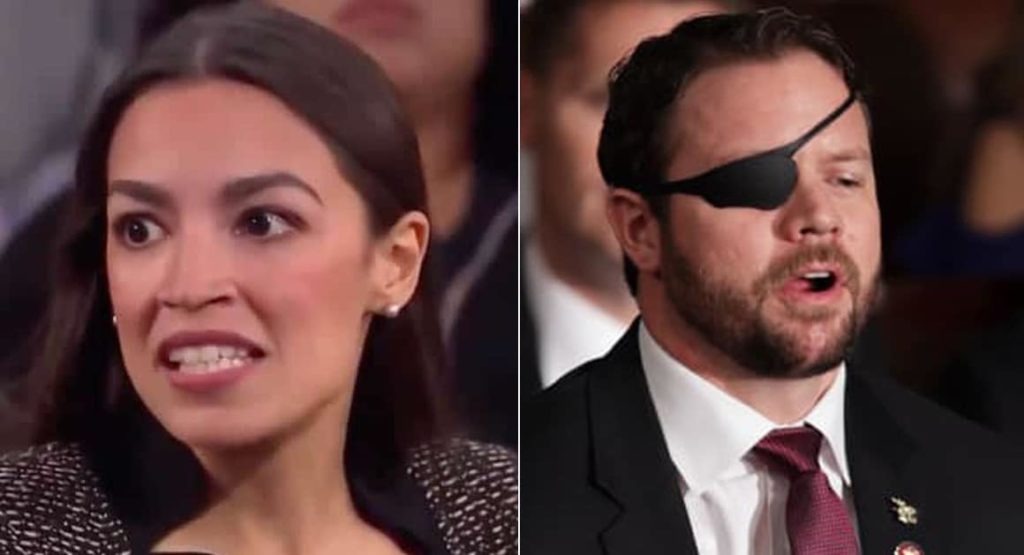 "AOC Defends Omar, Tells SEAL Crenshaw ""Why Don't You Go Do Something"" About Domestic Terrorists"